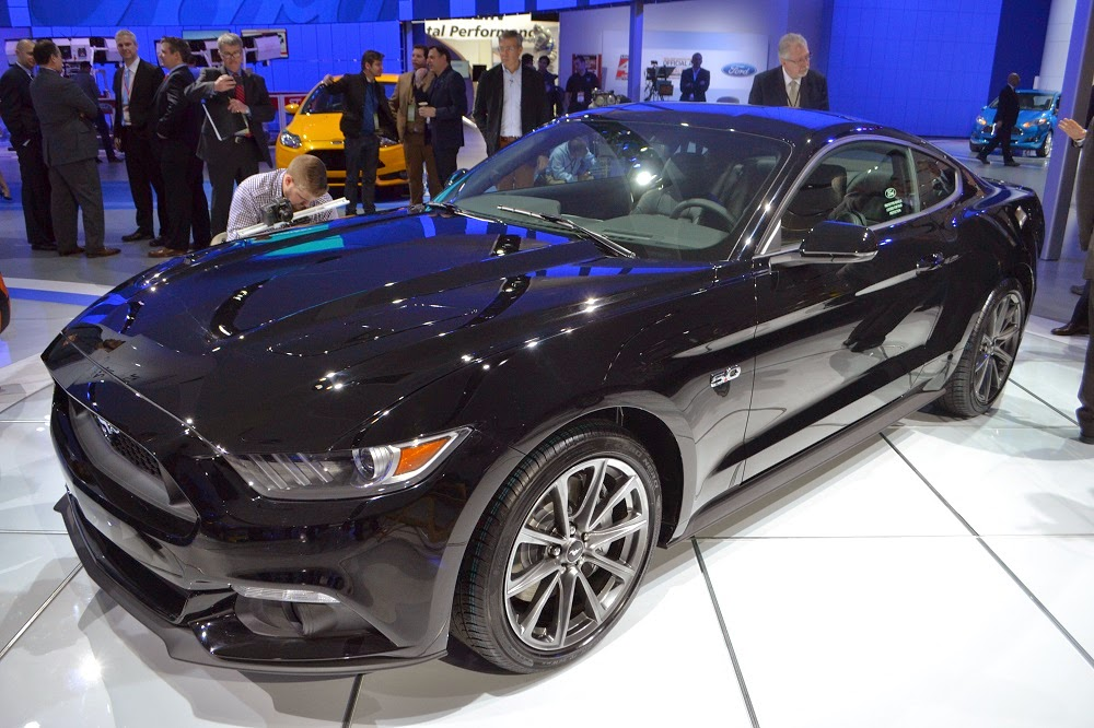 2015 ford mustang gt black