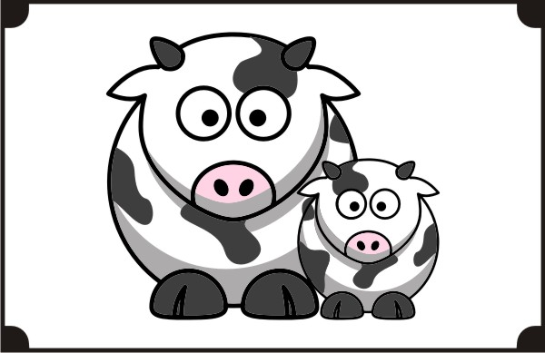two-cows-coloring-pages