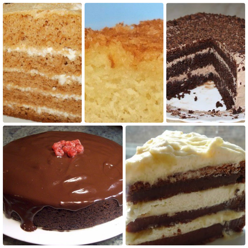 Домашний торт в мультиварке рецепты