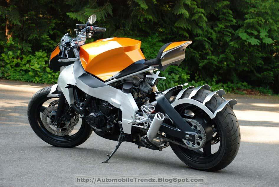 Automobile Trendz Honda Cbr 1000f Custom Streetfighter