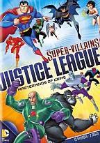 DC Super Vilões Liga da Justiça Mentores do Crime