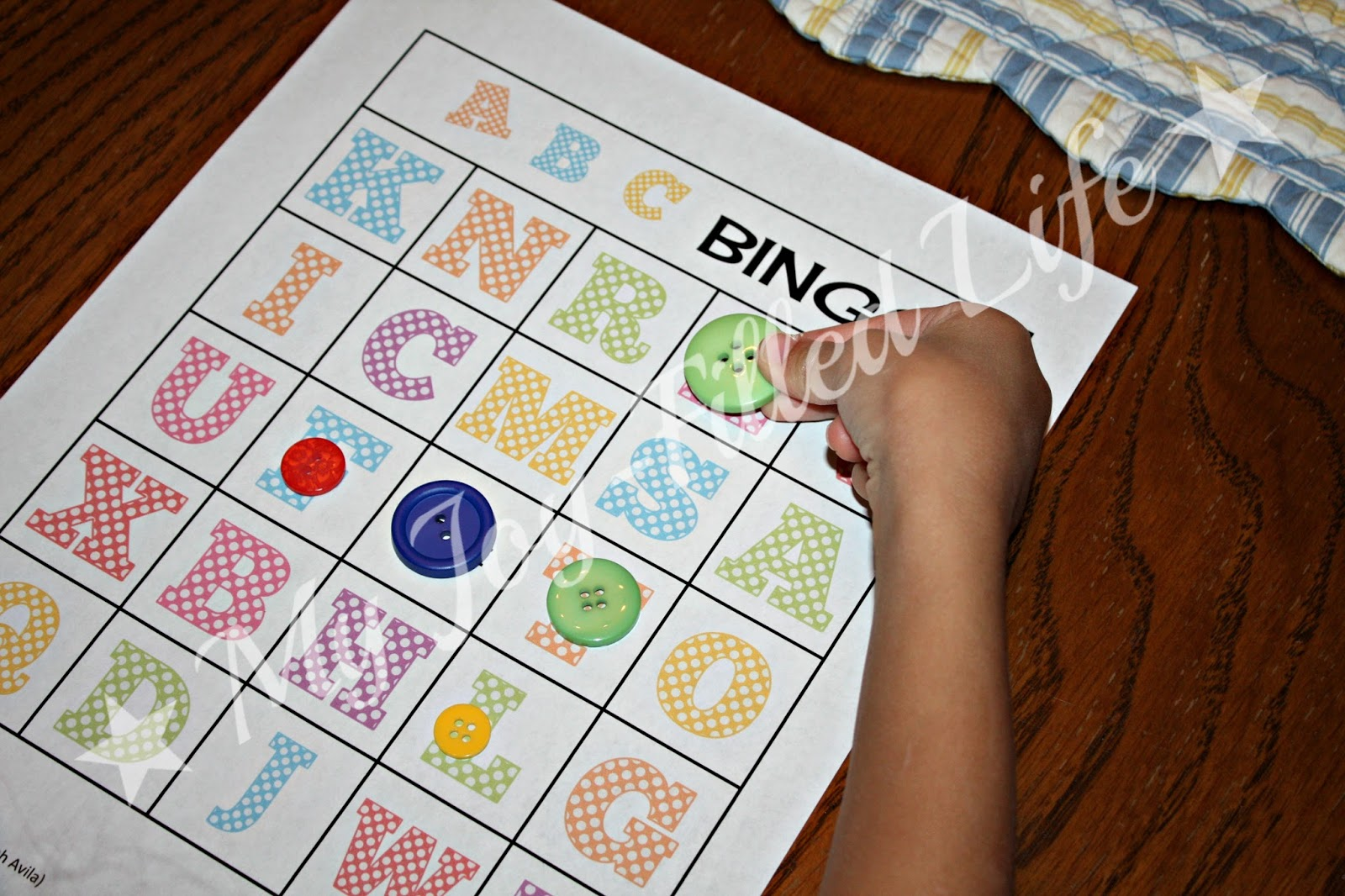 Days Of Letter Recognition Activities Abc Bingo  My JoyFilled Life