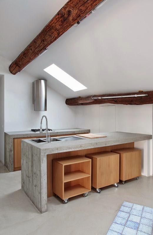 50 fotos de cocinas modernas peque as llenas de for Cocinas integrales en l pequenas