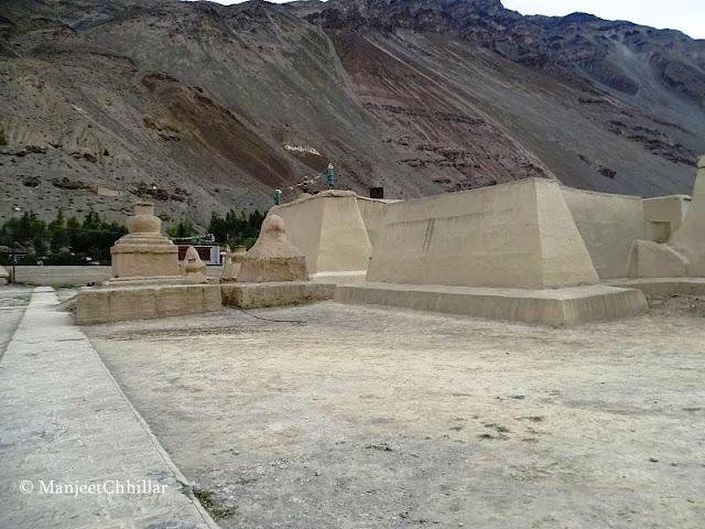 Tabo Monastery Backyard