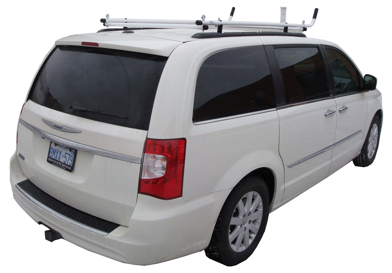 Van, Minivan, SUVs Aluminum Ladder Racks Van Shelving