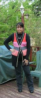 Pink Calico - Stripey Vest