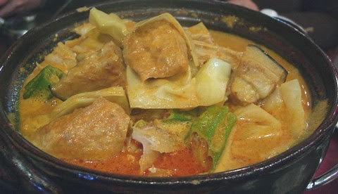 Fish Head Curry with Coconut and Lemongrass