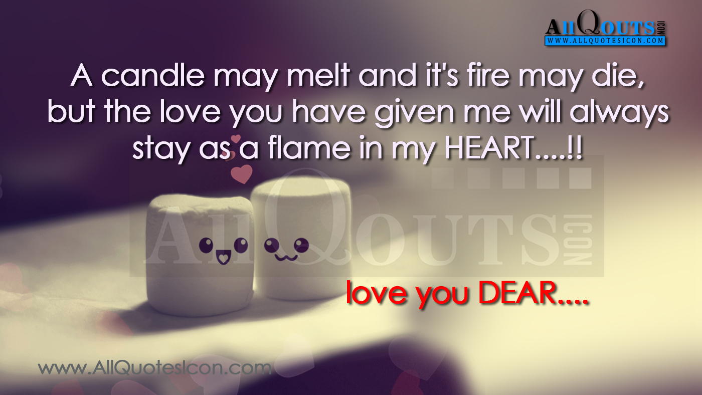 Best Love Quotes and Images with HD Wallpapers 2015 www.AllQuotesIcon.com Telugu Quotes ...