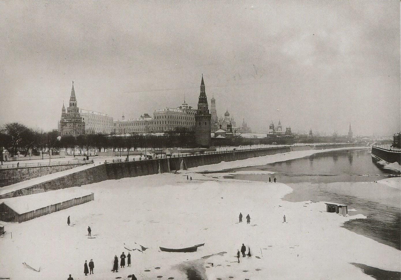 postcard, Russia, kremlin