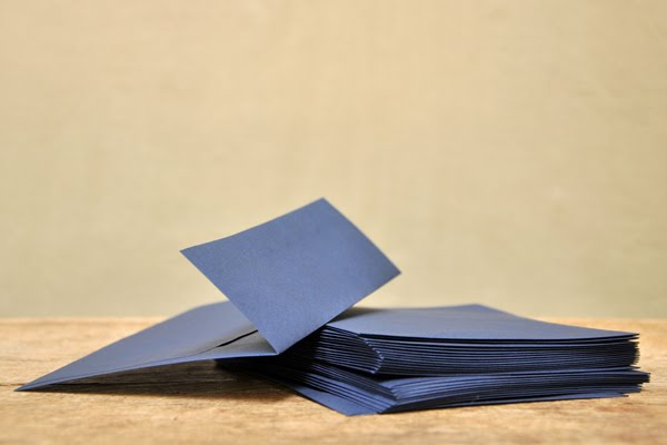 Pawling - Destash Blue A6 Envelopes