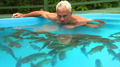 Jeremy Wade bravely faced monsters of the sea!