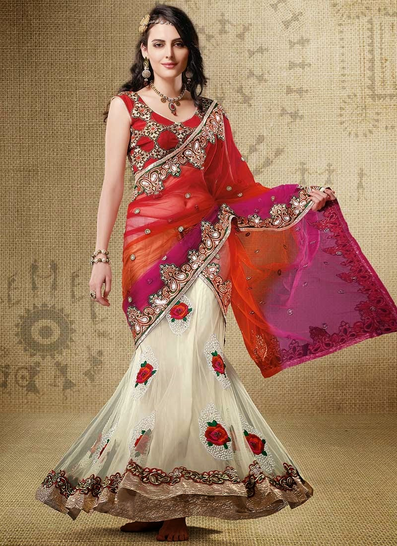 Fashion and you lehenga saree 80