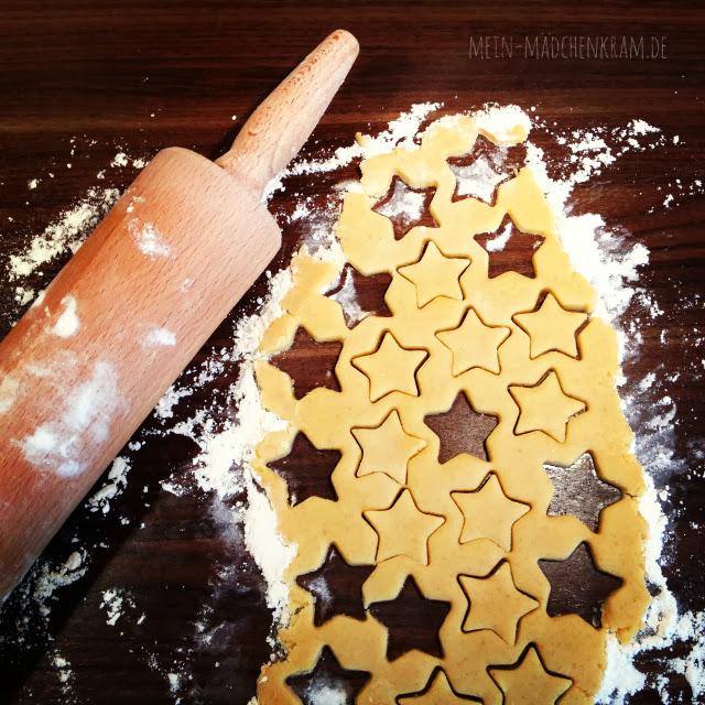 Keks, Kekse, Mürbeteigkekse, Marzipankekse, Stern, Sterne, vegan, Biovegan, Krokant, Plätzchen, vegane Plätzchen, vegane Kekse