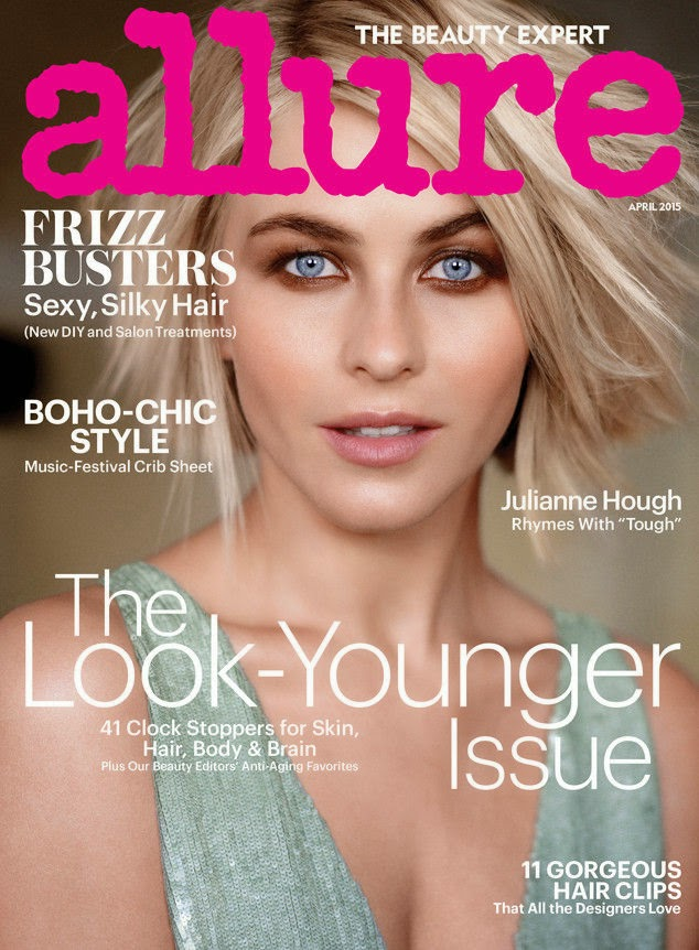 Singer, Actress @ Julianne Hough - Allure April 2015