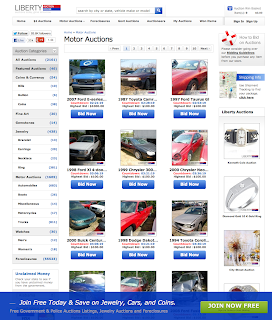 Police Auctions - Liberty Auction House