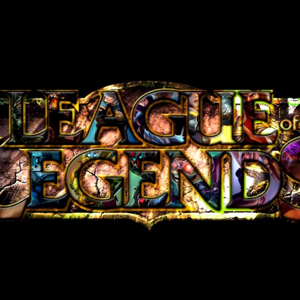 League Of Legendsgames Logo Wallpaper   Mega Wallpapers