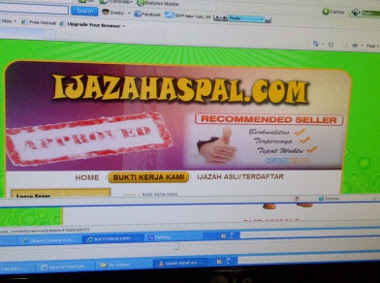 Pembuat Ijazah Palsu Di Ijazahaspal.com Ditangkap [ www.BlogApaAja.com ]