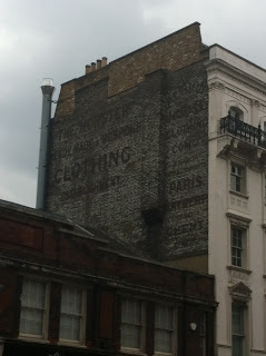 Ghost sign on Borough High Street, London SE1
