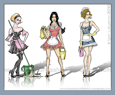 fashion figures illustration