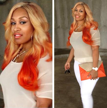 Orange Ombre Hair Color