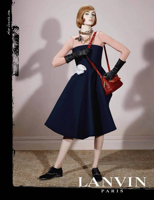 Lanvin AW13  by Edie Campbell