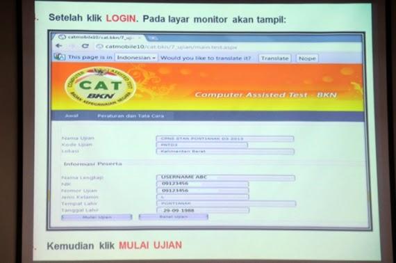 Teknis, Kelebihan/Keunggulan, Manfaat Penggunaan Sistem Software CAT di Ujian CPNS 2014