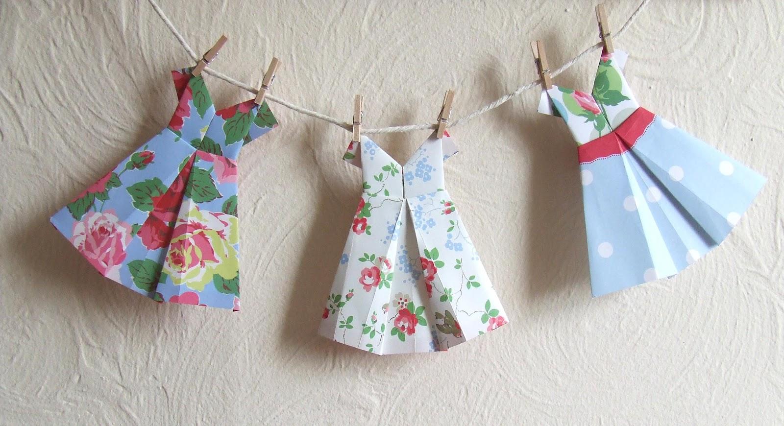 feltmeup designs origami dresses