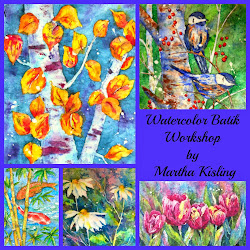 Watercolor Batik Workshop July 12, 2014 Breckenridge, CO
