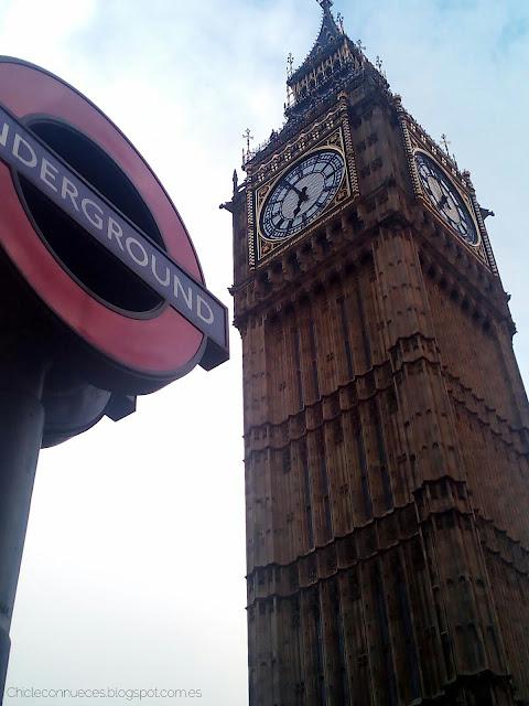 Big Ben underground
