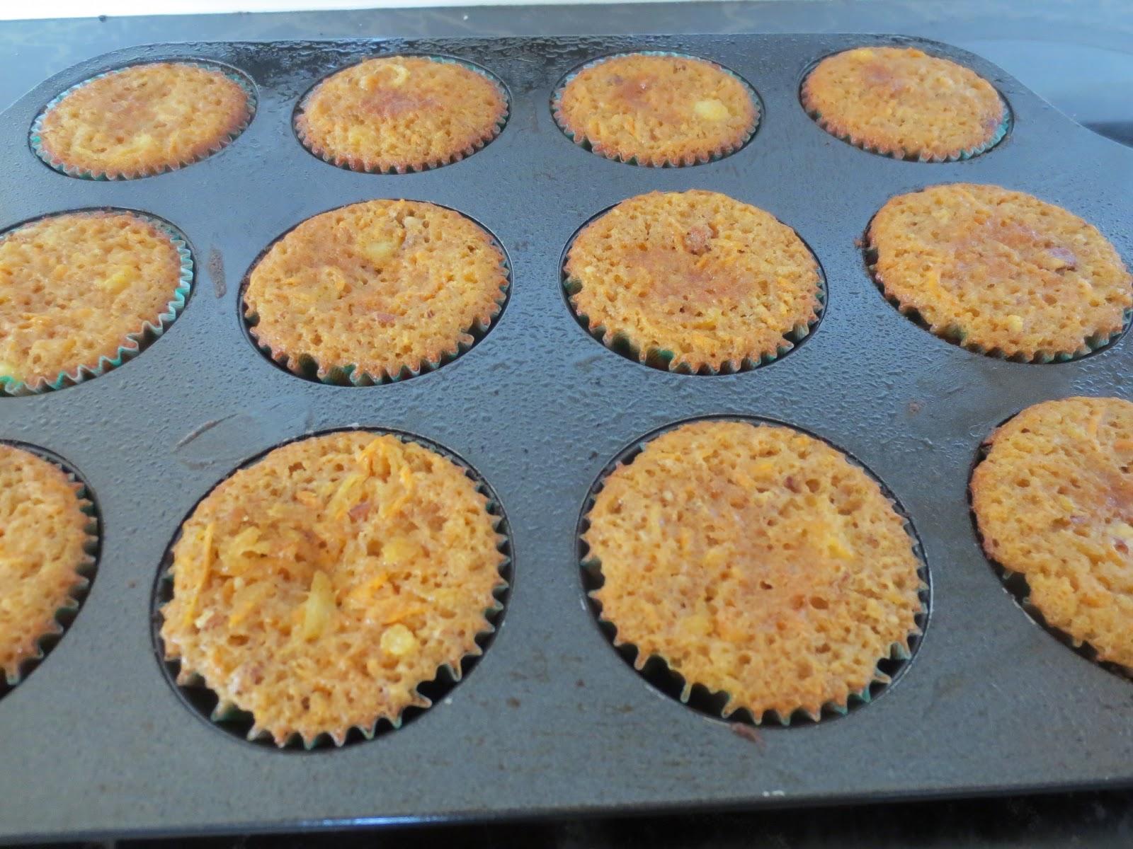 Barefoot Contessa Carrot Cake Muffins