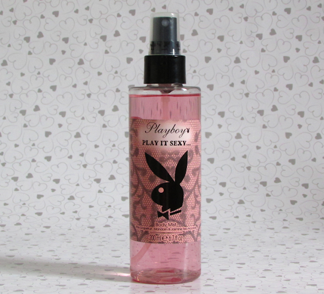 Nova linha de body mist da Playboy Fragrances