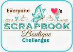 Scrapbook Boutique Challenges