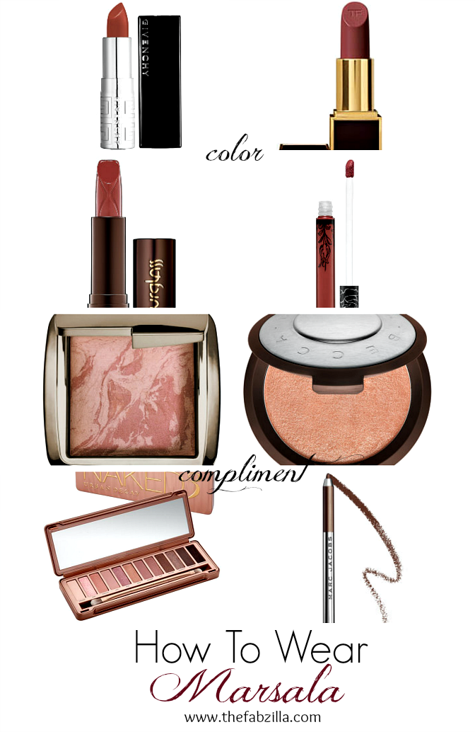 2015 Marsala, How to Wear Marsala, Marsala Makeups, What is Marsala