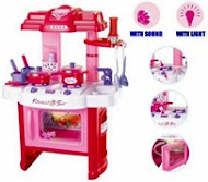 Children's Kitchen Toy Play Set