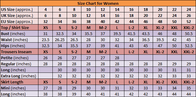 If you have a inch waist, for example, your National Workwear pants size would be a 7 for adult women and 10 for juniors. Juniors pant sizes are usually about three numbers higher than the corresponding adult size, though there is no exact equation to convert the sizes.
