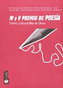IV y V premio de poesía Centro Cultural Blas de Otero