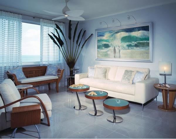 D co salon plage for Salon habitat nimes