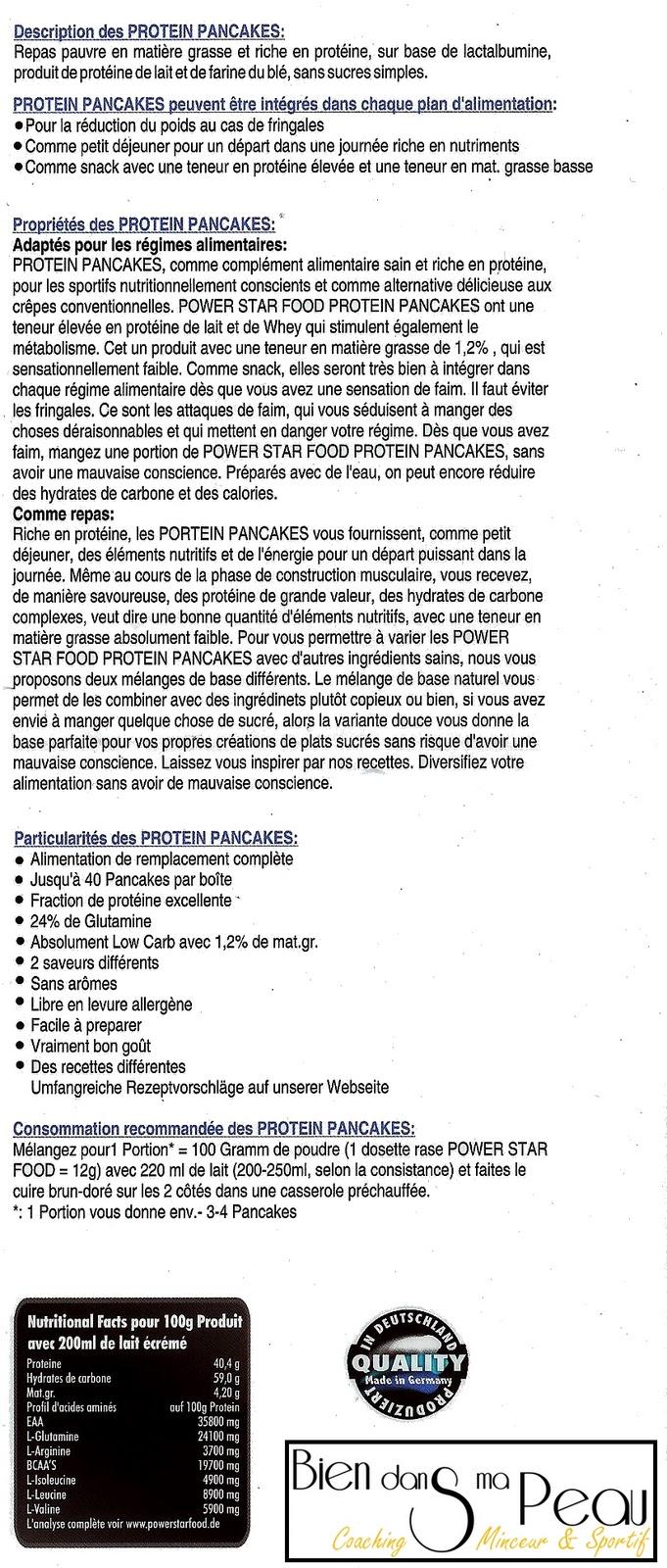 Pancake prot in c 39 est facile laurent jacquemart coaching sportif - Produit riche en proteine ...