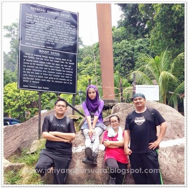 Jari-Jari Yang Bersuara: Ekspedisi Gunung Datuk, Rembau