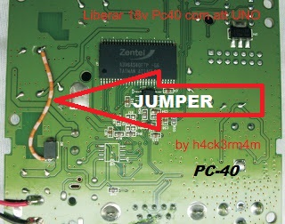 PC-40 e iBox - Jumper para abrir o 43ºW com firmware do dongle Uno ...
