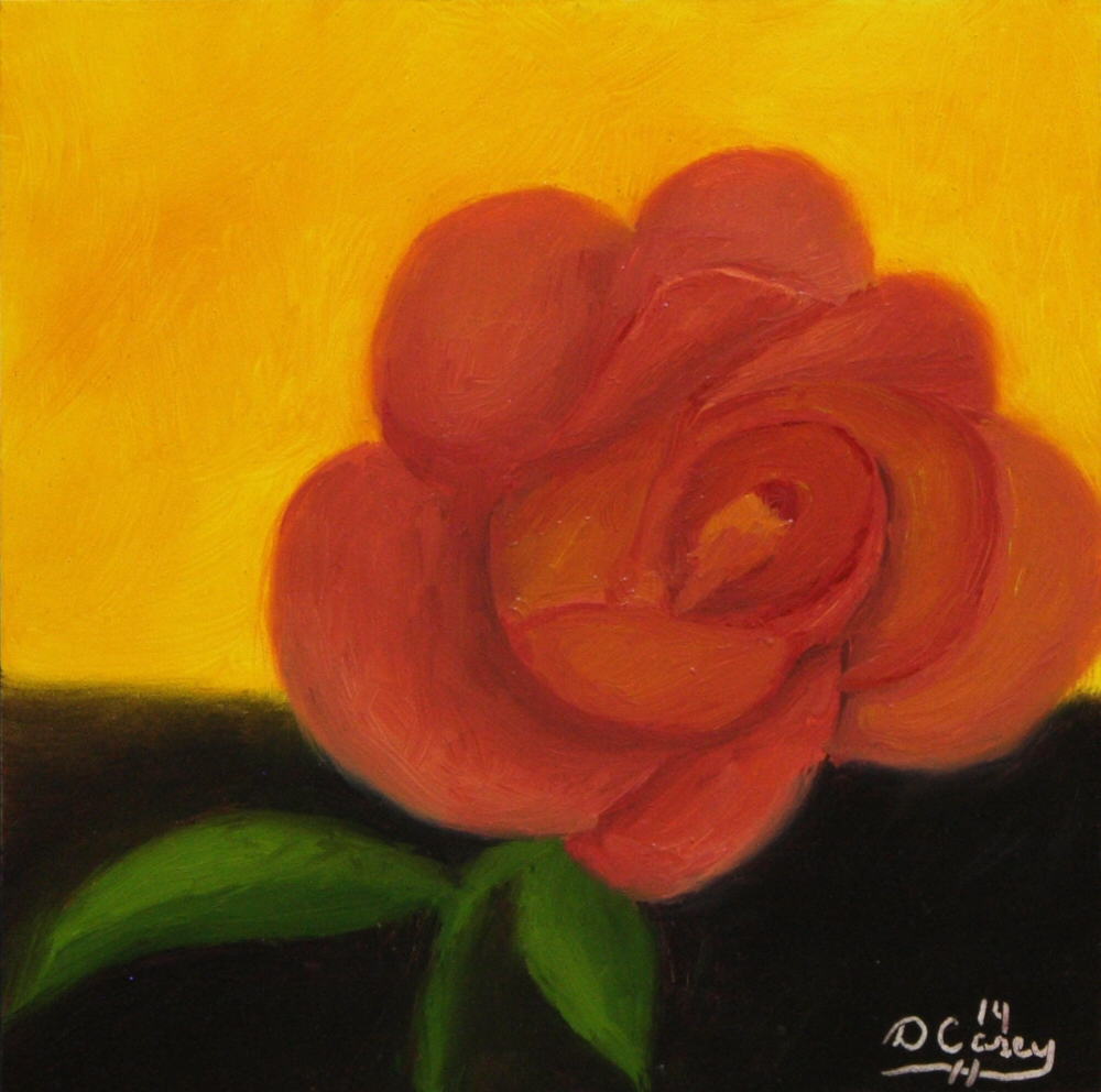 141024 - Joseph's Coat Rose 001a 6x6 oil on gessobord - Dave Casey - TheDailyPainter.jpg