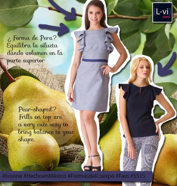 Ivonne: PV2015 /SS15 Forma de cuerpo: pera L-vi.com