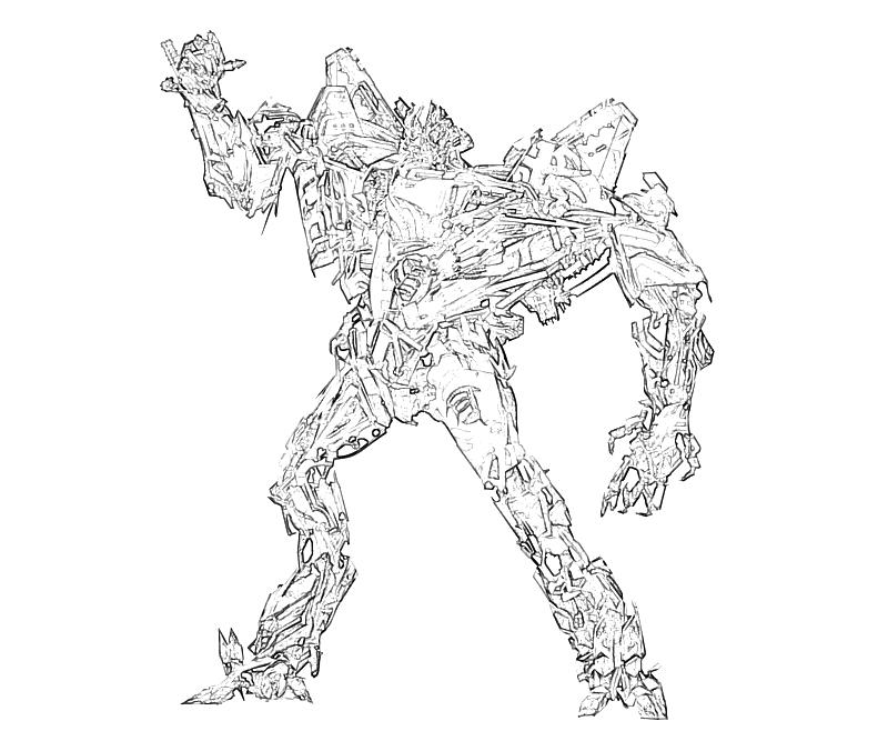 Transformers fall of cybertron starscream robot surfing for Starscream coloring page