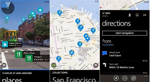 Optimized, Bug Fixes Feature Updated in Nokia Here Maps: Windows Phone