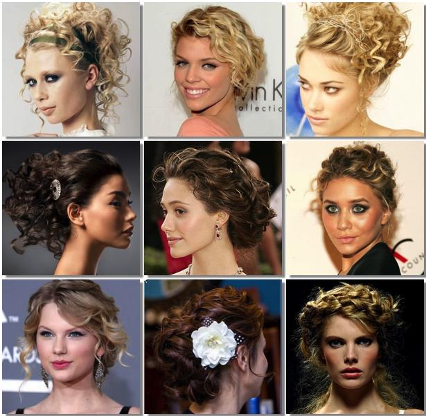 Cabello Rizado Peinados Faciles - Más de 1000 ideas sobre Peinados Pelo Rizado en Pinterest
