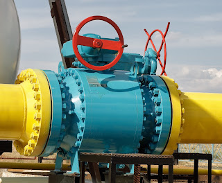 ball valve in gas pipeline