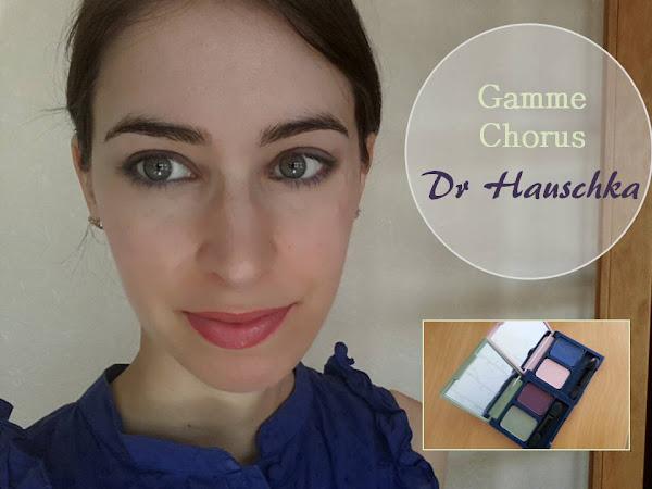 Un maquillage effet Papillon, avec la gamme Chorus de Dr Hauschka !