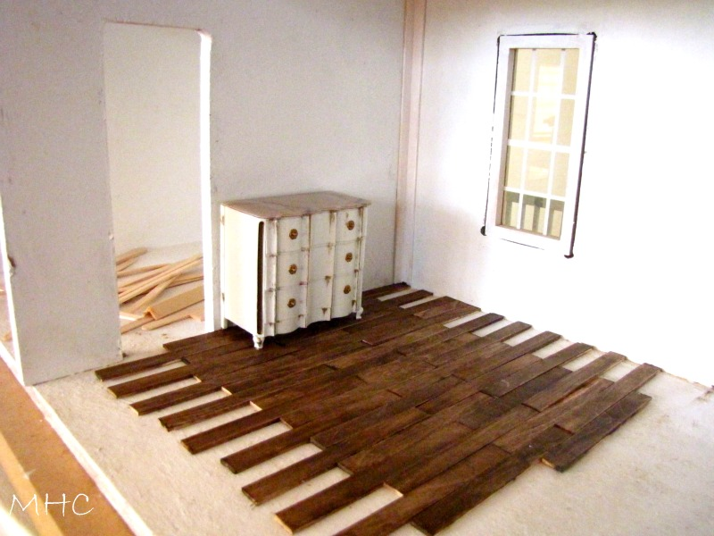 Dollhouse A Hardwood Floor