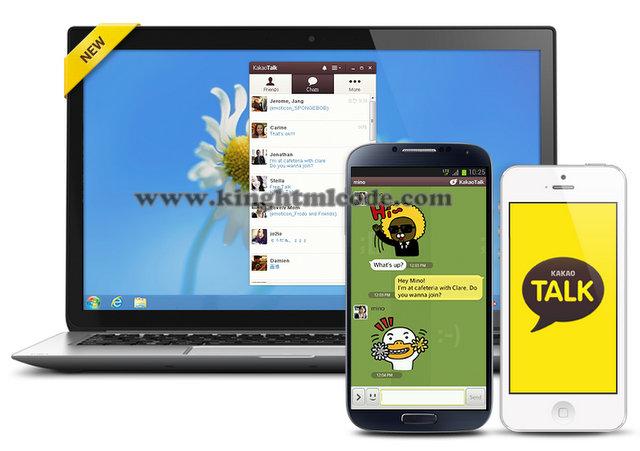 Aplikasi Kakao Talk, Kakao Talk Untuk PC, Menggunakan Kakao Talk Di PC