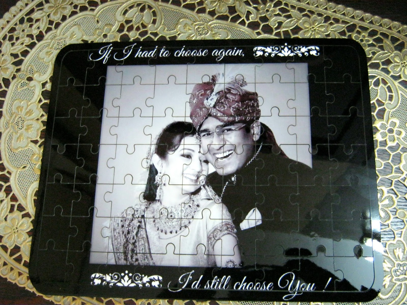 Black and White theme Personalized gifts
